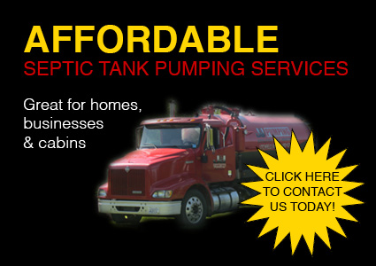 Affordable Septic Tank Pumping Services. Click here to contact us today!