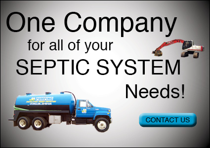 One Company for all of your Septic System Needs